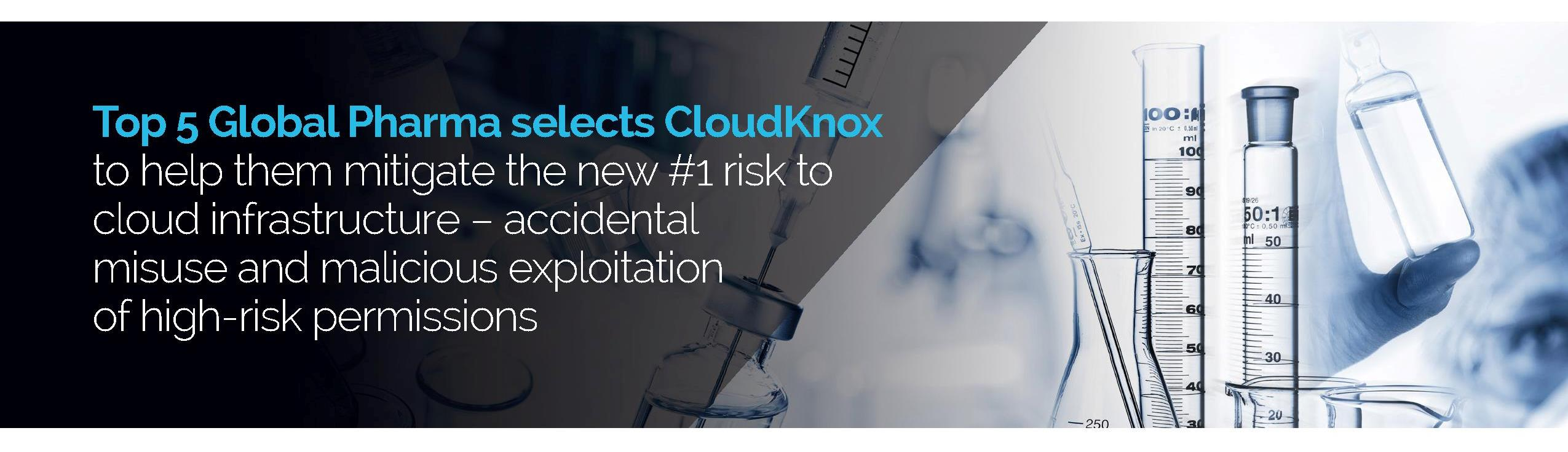 Top 5 Global Pharma selects CloudKnox